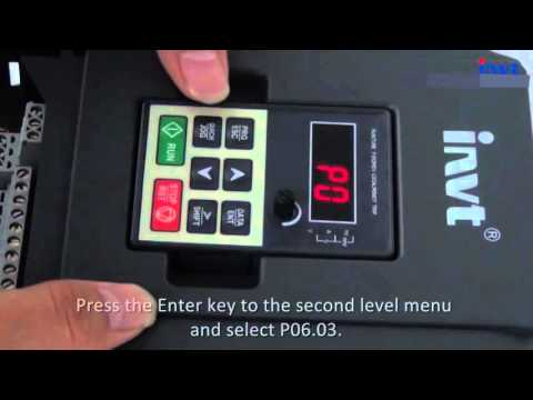 Solar Pump Inverter: How to Set Solar Pump Inverter GD100-PV Parameters ?