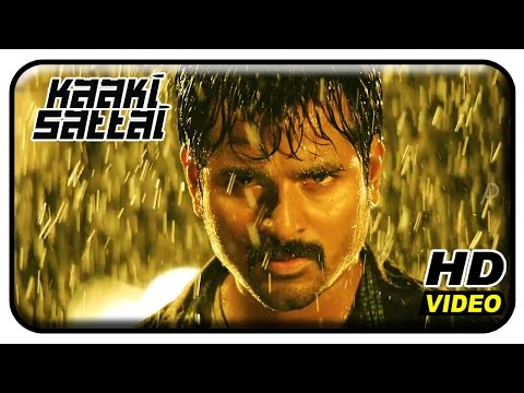Kaaki Sattai Tamil Movie | Back To Back Fight Sequence | Siv
