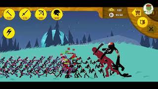 STICK WAR LEGACY MOD   9999 Griffon The Great spells vs Giant Ice   MrGiant777