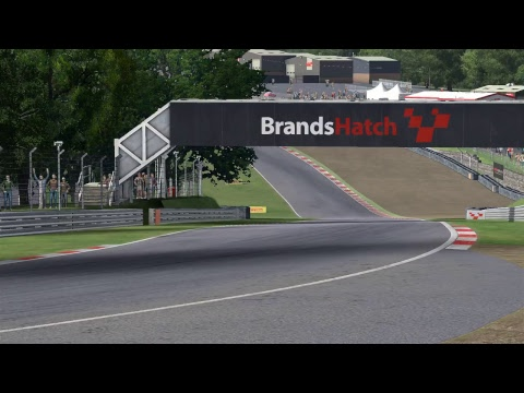 AMS Australia Broadcast - Formula 3 R3 - Brands Hatch (Indy Layout)