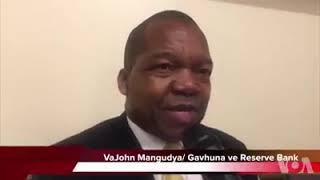 John Mangudya comments on the cash shortage in Zimbabwe