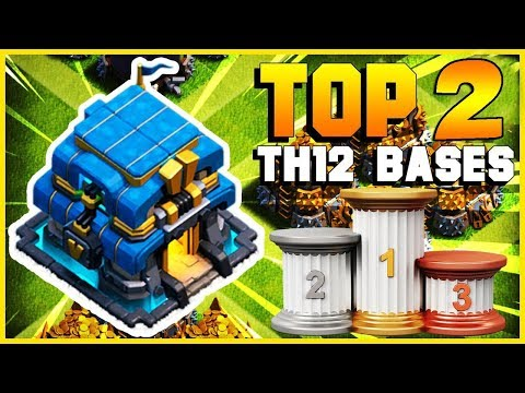 TOP 3 BEST TH12 Farming Base 2019   CoC NEW Town Hall 12 Defense Strategy   Clash Of Clans
