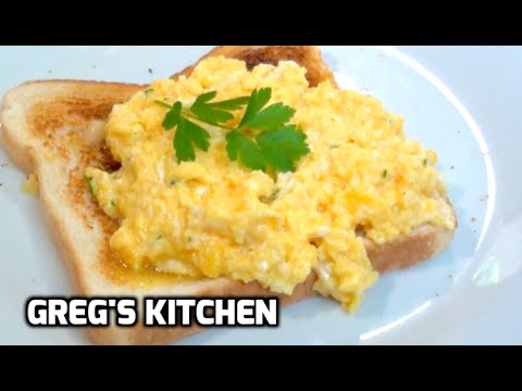 HOW TO COOK PERFECT SCRAMBLED EGGS - Greg's Kitchen