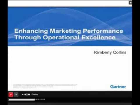 Marketing Operations Webinar featuring Gartner