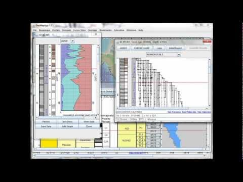 Portals: Ocean Floor Drilling - Geological Timescale, Keeping Track of Age and Depth