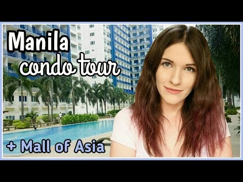 MANILA CONDO ROOM TOUR at Mall of Asia Philippines | Vlog