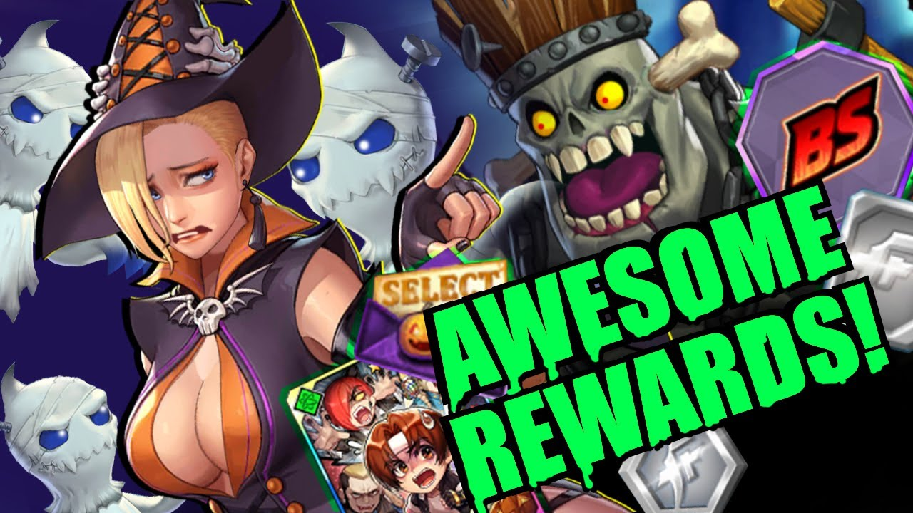 Download Rush Event, New Option Card, BS Memory, AND MORE! KOFAS Halloween Update
