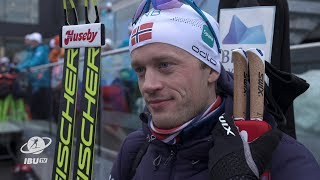 "#HOL19 Tarjei Boe: ""A good season; so happy for Johannes"""