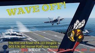 DCS F/A-18C Stingers first PLAT cam