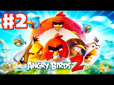 Angry Birds 2 - Gameplay Walkthrough Part 2 - Levels 16-23! 3 Stars! New Pork City! (iOS, Android)