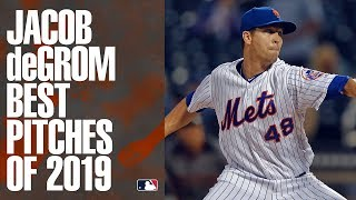 NL Cy Young winner and Mets ace Jacob deGrom's best pitches of 2019