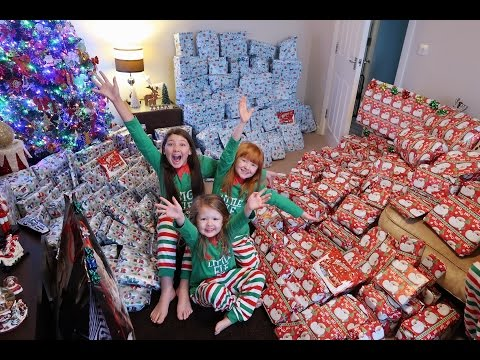 CHRISTMAS MORNING SPECIAL OPENING PRESENTS BRINGS TEARS | PA