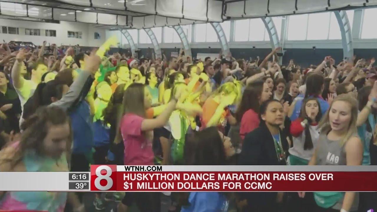 Huskython dance marathon raises over $1 million for CCMC - Dauer: 34 Sekunden