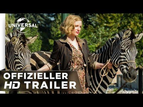Die Frau des Zoodirektors - Trailer deutsch/german HD