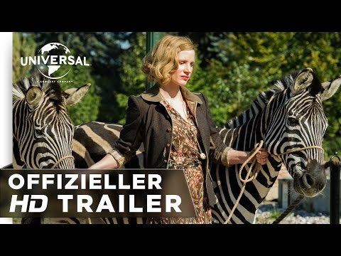 Die Frau des Zoodirektors - Trailer deutsch/german HD