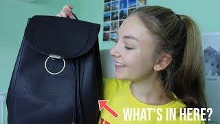 WHAT'S IN MY SCHOOL/ COLLEGE BAG 2018|Sophia