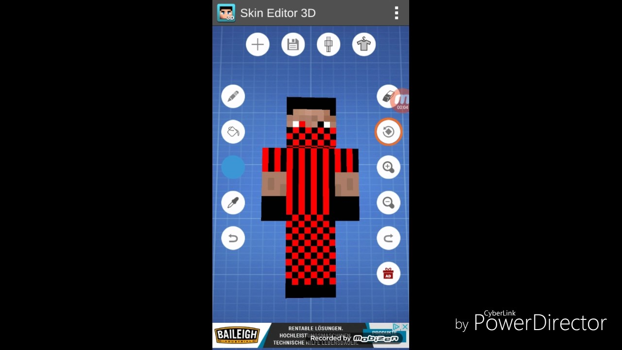 Minecraft PE Skin Erstelleneinfügen Android LeaveHD YouTube - Wie ladt man sich skins fur minecraft pe runter