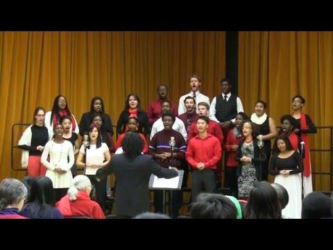 JHU Gospel Choir Concert Fall '15