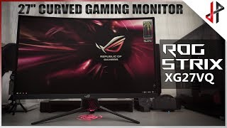 ROG STRIX XG27VQ 144hz Gaming Monitor!