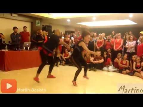 Albir and Sara kizomba dance show @ Mallorca Kizomba Feeling Festival 2016