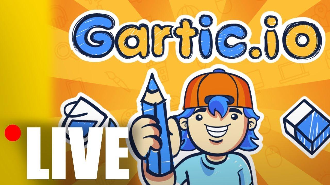 [LIVE] Mabar Gartic Io Dengan Viewers