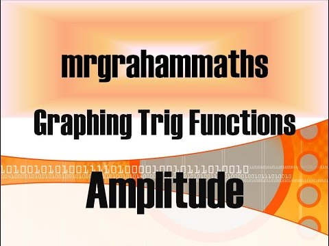 Access youtube national 5 maths graphing trig functions amplitude ccuart Gallery