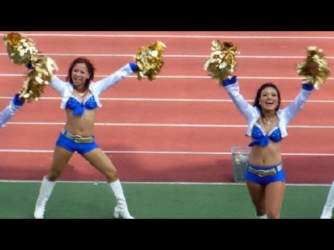 NFL & Cheerleaders in Japan!
