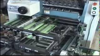 印刷会社の工程