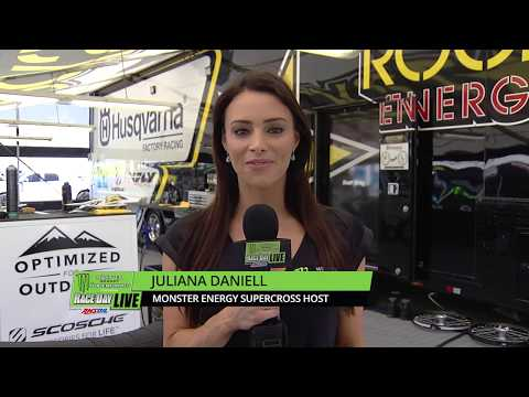 Juliana Chats with Anderson - Las Vegas - Race Day LIVE 2018