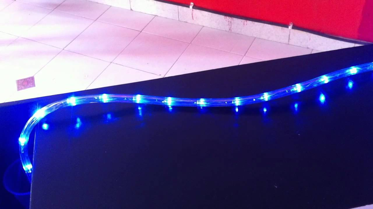 Manguera led para navidad u otras aplicaciones youtube - Luces de led para casa ...
