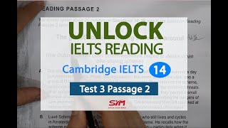 Hướng dẫn chi tiết IELTS Reading Cam 14 Test 3 Passage 2 | Hương Bunny