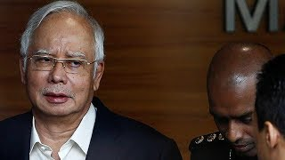 Malaysia's ex-PM Najib Razak arrested by anti-corruption officers