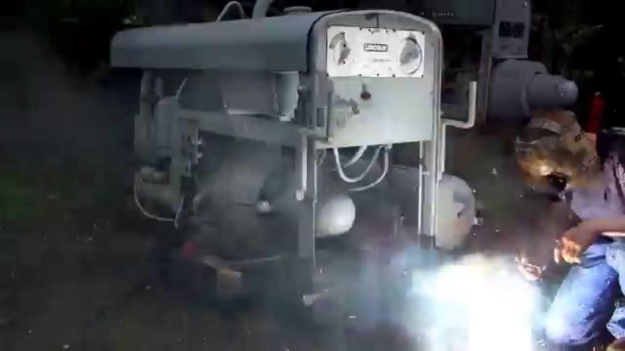 screamin detroit diesel - 1943 lincoln sae400 w/detroit diesel gm2056 -  youtube