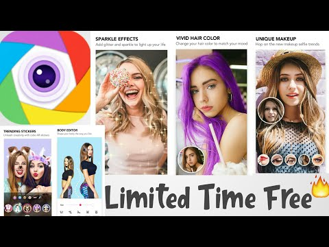 App Review Of Beauty Camera SweetCam ColorCam Selfie Filters CandyCam Photo Editor