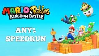 "Mario + Rabbids Kingdom Battle Any% Speedruns  ""It's basically like trying to speedrun chess."""