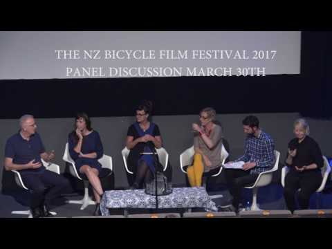 NZ Bicycle Film Festival 2017, Panel Discussion
