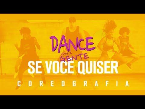 Se Você Quiser - Harmonia do Samba   Dance com a Gente (Coreografia)
