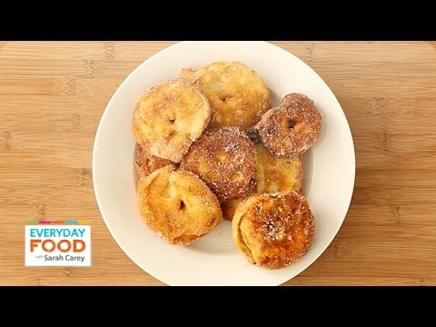 Apple Fritters for Hanukkah - Everyday Food with Sarah Carey
