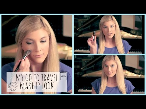 Makeup Tutorial! ♥ My Go To Travel Makeup