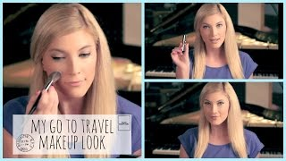 Makeup Tutorial! ♥ My Go To Travel Makeup Thumbnail