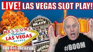 💥 Insane Live Las Vegas Slot Play 💥 thumbnail