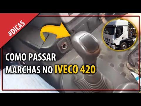 Como fazer as trocas de marchas no iveco 420