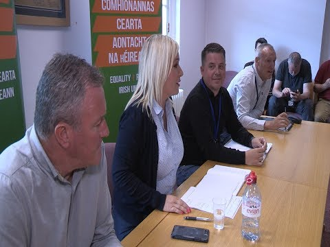 As Westminster descends into chaos Sinn Féin ready to fight any election - Michelle O'Neill