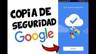 Descargar e instalar copia de seguridad y sincronización - Google 2018