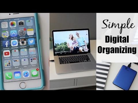 Simple Digital Organizing | Photos, Computer & Smartphone