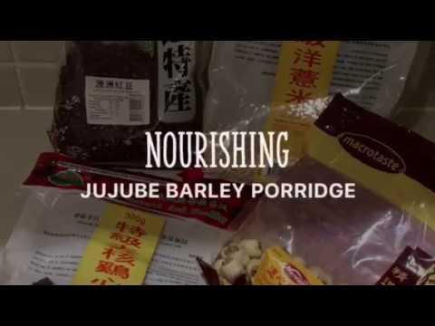 Jujube barley porridge