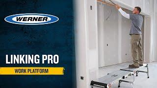 Werner Ladder UK - Linking PRO Work Platform