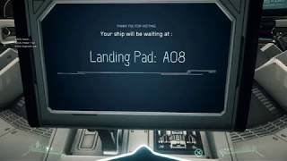 Star Citizen Alpha Port Olisar, 1 Mission, Repairs