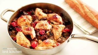 Roasted Chicken With An Easy Ratatouille Recipe - From The Test Kitchen