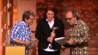 Luise Kinseher Bayerischer Kabarettpreis 2014 Laudator Kay Lorentz